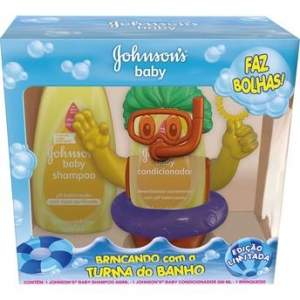 [Walmart] Kit Johnson's Shampoo e Conicionador para meninos - R$ 10