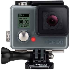 [Americanas] Câmera Digital GoPro Hero Plus 8.1MP com WiFi Bluetooth e Gravação Full HD - Preta por R$ 1439