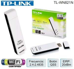 [Walmart] Adaptador wifi TP-LINK WN821N - R$ 40,41.