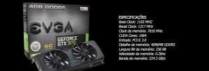 [KABUM] Placa de Vídeo VGA EVGA GeForce GTX970 4GB R$1450