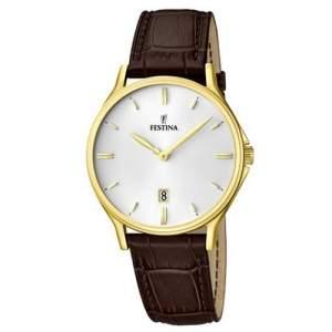 [Vivara] Relógio Festina Masculino Couro Marrom por R$ 195
