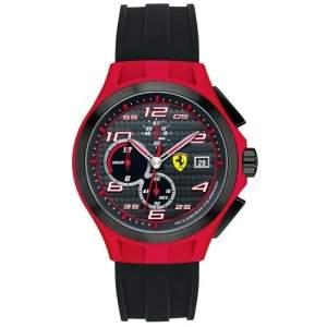 [Vivara] Relógio Scuderia Ferrari Masculino Silicone Preto por R$ 475