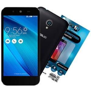 "[EFACIL] Smartphone Zenfone Live Dual Chip, Preto, Tela 5"", 3G+WiFi, 8MP, 16GB, TV Digital + Película de Vidro - Asus + BRINDE TOP por R$715,75"