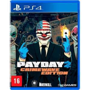 [Submarino] Game - Payday 2: Crimewave Edition - PS4