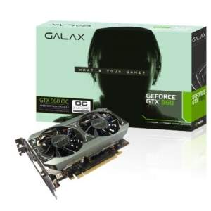 [ChipArt] PLACA DE VIDEO GALAX GTX 960 OC 2GB GDDR5 - 96NPH8DND8VZ R$900