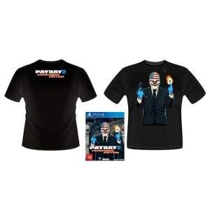 [Extra] Jogo Payday 2: Crimewave Edition PS4 + 1 Brinde Camiseta Pay Day 2 por R$ 70