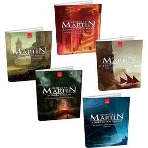 [SUBMARINO] Kit Livros - Game of Thrones - Livros 1,2,3,4 e 5 - R$50