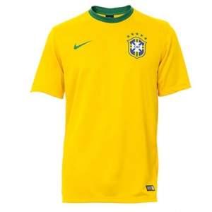 [Passarela] Camisa Nike Brasil CBF Supporters 575715 - Amarelo por R$ 24