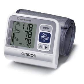 [Casas Bahia] Aparelho Medidor de Pressão De Pulso Digital Automático Omron HEM-6200 - R$100