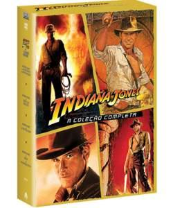 [SUBMARINO] DVD Quadrilogia Indiana Jones por R$ 22