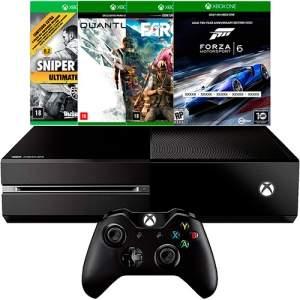[AMERICANAS] Xbox One 500GB + Headset + 4 Jogos