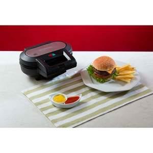 [Shoptime - Voltou] Máquina de Hambúrguer Fun Kitchen SS-1010G Preta - por 86