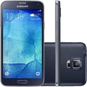 [Sou Barato] Smartphone Samsung Galaxy S5 New Edition Desbloqueado Oi Android 5.1 Tela 5.1'' 16GB Wi-Fi 4G Câmera 16MP - Preto por R$ 1079