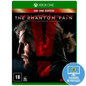 [Ricardo Eletro] Jogo Metal Gear Solid V: The Phantom Pain para Xbox One (XONE) - Konami - R$68