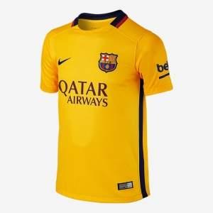 [Nike] Camisa Torcedor Barcelona II 2015/16 Infantil - R$120