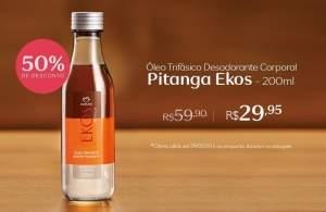 [Natura] Oleo trifasico Pitanga - R$30