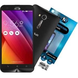 "[EFACIL] Zenfone 2 Laser Preto Tela 5.5"" 4G+WiFi 13MP 16GB + Película Vidro Zenfone Laser - Asus + BRINDE TOP por R$ 931,92"