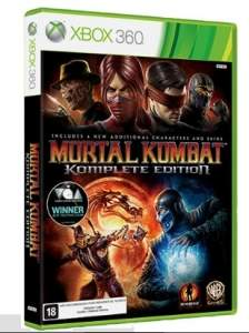 [SUBMARINO] Game Mortal Kombat Komplete Edition - XBOX 360 - R$ 72,74
