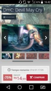 [Nuuvem] DmC: Devil May Cry - PC - Compre na Nuuvem - R$15