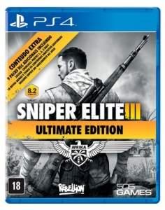 [SUBMARINO] Game Sniper Elite 3: Ultimate Edition - PS4  - R$ 69,90