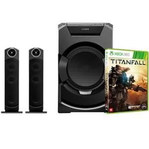 [EFACIL] Mini System MHC-Shake Flex GT5D + Jogo Titanfall Xbox 360 POR2604,98