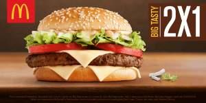 [McDonalds] 2 Big Tasty pelo preço de 1
