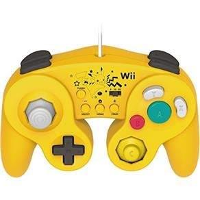 [Extra] GameCube Controller Pikachu Hori Wii U Controle R$128