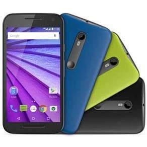 [Extra] Smartphone Moto G™ (3ª Geração) Colors HDTV XT1544 Preto com Tela de 5'', Dual Chip, Android 5.1, 4G, Câmera 13MP e Processador Quad-Core de 1.4 GHz por R$ 836