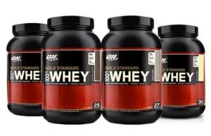 [Peixe Urbano] Whey Gold Standard Optimum Nutrition R$129