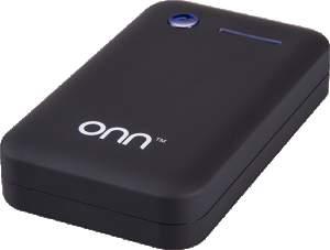 [Walmart] Carregador Portátil para Dispositivos USB ONN 7800mAh Preto PC821 por R$ 80