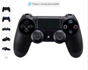[Submarino] Controle sem Fio Dualshock 4 Preto PS4 - R$ 187
