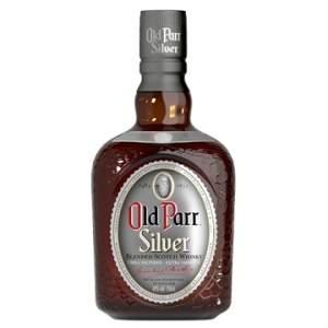 [EFacil] Whisky Escocês Silver Garrafa 1 Litro - Old Parr - R$87