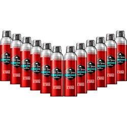 [Sou Barato] Kit com 12 Desodorantes Antitranspirante Old Spice ou Gillete Jato Seco - por R$ 81