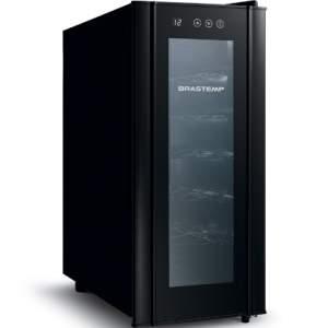 [Compra Certa] Adega Climatizada Brastemp All Black 12 Garrafas - BZC12BE por R$ 598