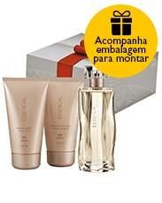 [Natura] Presente Natura Essencial Feminino - Deo Parfum + Desodorante Hidratante + Sabonete Líquido + Embalagem Desmontada + Frete Grátis - R$ 171