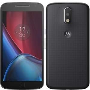 """[EFACIL] Smartphone Moto G 4ª Geração Plus, Dual Chip, Preto, Tela 5.5"""", 4G+WiFi, Android 6.0, 16MP, 32GB - Motorola POR R$1395,09"""