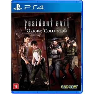 [Voltou-Americanas] Jogo Resident Evil Origins: Collection BR - PS4 - R$84