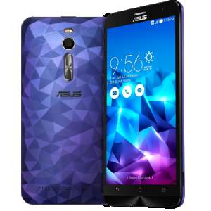 "[Saraiva] Smartphone Asus Zenfone 2 Deluxe Roxo Tela 5.5"" Android 5 Câmera 13Mp Dual Chip Intel Atom 128Gb - R$1393"