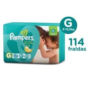 [EXTRA] Fralda Pampers G - Total Confort - 114un