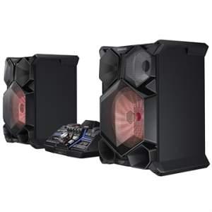 [EFACIL]Mini System MX-JS9000/ZD 2 USB Bluetooth Giga Sound DJ Beat Ripping Iluminação LED 2600W RMS - Samsung POR R$1860