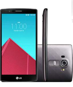 [SOU BARATO] Smartphone LG G4 Desbloqueado Claro Android 5.0 Tela 5.5'' 32GB 4G Wi-Fi Câmera 16MP - Titânio (44% OFF)