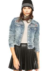 [Dafiti] Jaqueta Jeans Mooncity Pedras Azul R$70