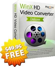 [Winx DVD] WinX HD Video Converter Deluxe e mais dois programas - Grátis