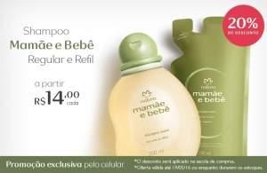 [Natura] Mamae e Bebê - Exclusivo Mobile - R$ 14