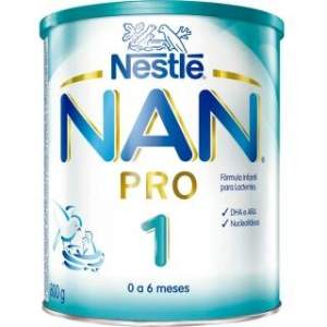 [Bebe Store] Nan Pro 1 Pro Fórmula Infantil 800g por R$ 19