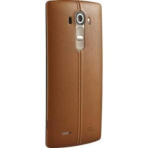 """[Sou Barato] Smartphone LG G4 Desbloqueado Android 5.0 Tela 5.5"""" 32GB 4G Wi-Fi Câmera 16MP Hexa Core - Couro Marrom  por R$ 1394"""