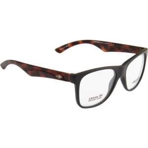[SUBMARINO] Óculos de Grau Mormaii Masculino Wayfarer Style - Transparente / Marrom