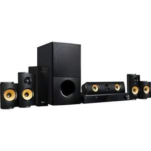 [AMERICANAS] Home Theater Blu-ray 3D LG Lhb725w 1200w 5.1 Canais Bluetooth Conexão Wi-Fi - R$ 1316