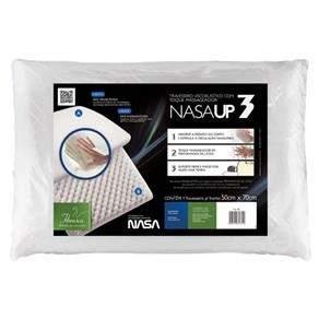 [EXTRA] Travesseiro Fibrasca Nasa Up3 Visco - Branco - R$27