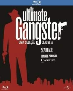 [Saraiva] Kit Blu-Ray Coleção The Ultimate Gangster – Scarface, Inimigos Públicos e Cassino - R$30